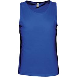 Textil Homem Tops sem mangas Sols 11465 Royal Blue