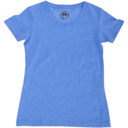 Textil Rapaz T-Shirt mangas curtas Russell J166B Marl azul