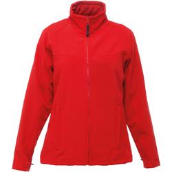 Textil Mulher Casaco polar Regatta TRA645 Vermelho clássico/cinza de selo