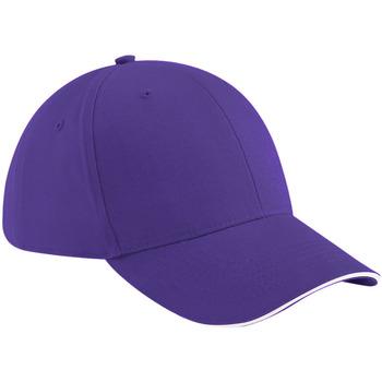 Acessórios Boné Beechfield B20 Púrpura/branco