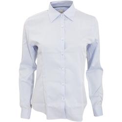 Textil Mulher camisas J Harvest & Frost JF003 Azul Céu
