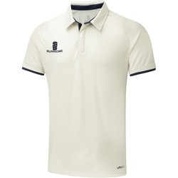 Textil Homem Polos mangas curta Surridge SU013 Branco/Navy trim
