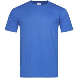 Textil Homem T-Shirt mangas curtas Stedman  Brilhante Real