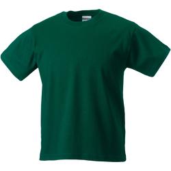 Textil Criança T-Shirt mangas curtas Jerzees Schoolgear ZT180B Garrafa Verde