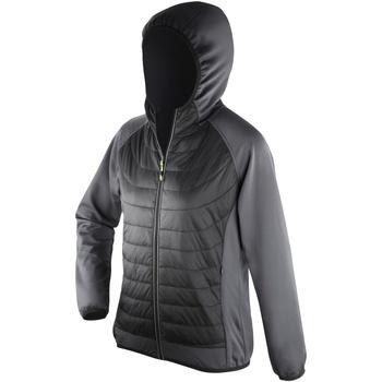 Textil Mulher Quispos Spiro S268F Preto/Carvão