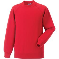 Textil Criança Sweats Jerzees Schoolgear 7620B Vermelho Brilhante