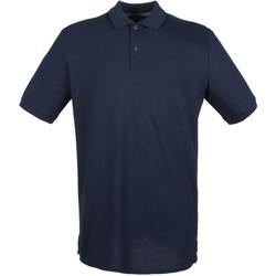 Textil Homem Polos mangas curta Henbury HB101 Marinha de Oxford