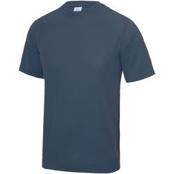 Textil Homem T-Shirt mangas curtas Awdis JC001 Força Aérea Azul