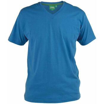 Textil Homem T-Shirt mangas curtas Duke Signature-2 Azul