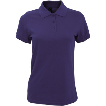 Textil Mulher Polos mangas curta Sols 10573 Púrpura Escura
