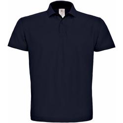 Textil Homem Polos mangas curta B And C PUI10 Azul-marinho