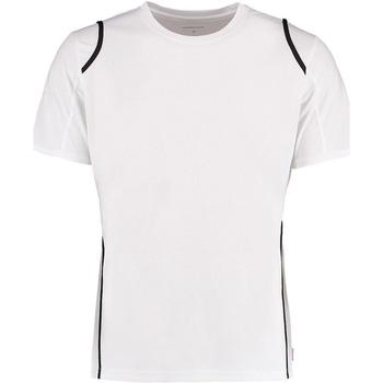 Textil Homem T-Shirt mangas curtas Gamegear Cooltex Branco/Preto