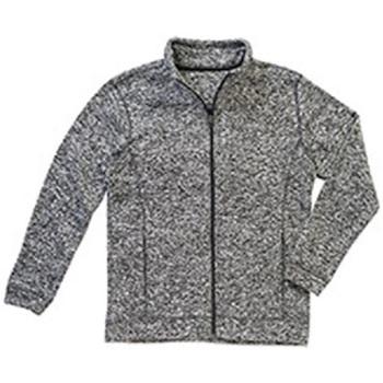 Textil Homem Casaco polar Stedman  Dk Grey Melange