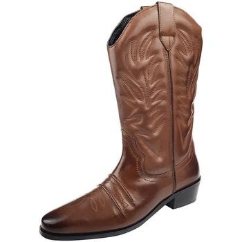Sapatos Homem Botas Woodland High Clive Marrom Escuro