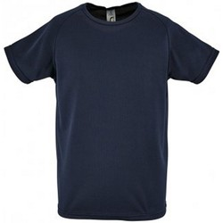 Textil Criança T-Shirt mangas curtas Sols Sporty marinha francesa