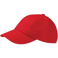 Acessórios Boné Beechfield Drill Cap Vermelho clássico