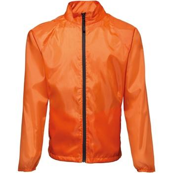 Textil Homem Corta vento 2786 TS011 Laranja / Preto