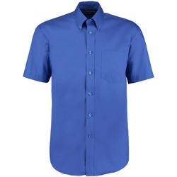 Textil Homem Camisas mangas curtas Kustom Kit KK109 Royal Blue