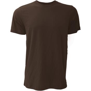 Textil Homem T-Shirt mangas curtas Bella + Canvas CA3001 Brown