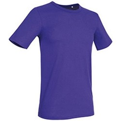 Textil Homem T-Shirt mangas curtas Stedman Stars Morgan Lilás profundo