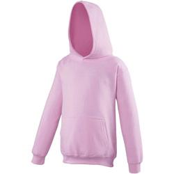 Textil Criança Sweats Awdis JH01J Baby Pink