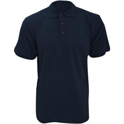 Textil Homem Polos mangas curta Kustom Kit KK400 Azul-marinho