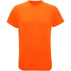 Textil Homem T-Shirt mangas curtas Tridri TR010 Laranja relâmpago