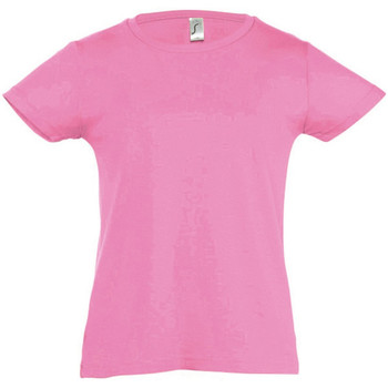Textil Rapariga T-Shirt mangas curtas Sols Cherry Rosa médio