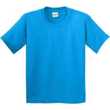 Textil Criança T-Shirt mangas curtas Gildan 5000B Saphire