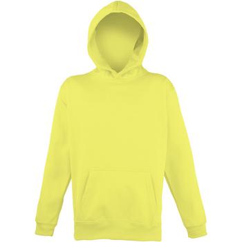 Textil Criança Sweats Awdis JH04J Amarelo elétrico