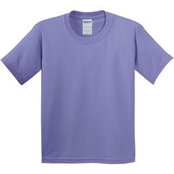 Textil Criança T-Shirt mangas curtas Gildan 5000B Violet