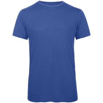 Textil Homem T-Shirt mangas curtas B And C TM055 Heather Royal