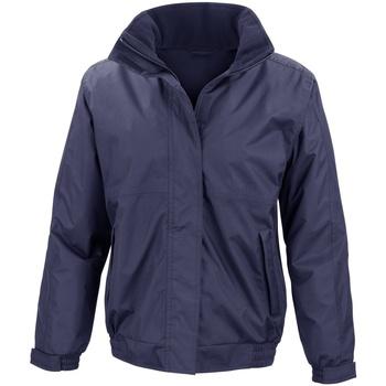 Textil Mulher Corta vento Result R221F Azul-marinho