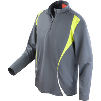 Textil Mulher Sweats Spiro S178X Carvão Vegetal/Cal/ Branco