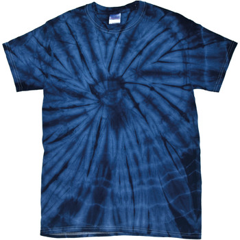 Textil T-Shirt mangas curtas Colortone Tonal Marinha Aranha