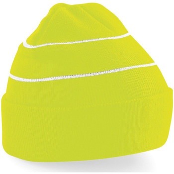 Acessórios Gorro Beechfield B42 Amarelo (Fluorescente)