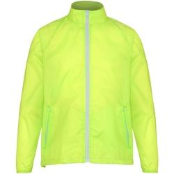 Textil Homem Corta vento 2786 TS011 Amarelo/ Branco