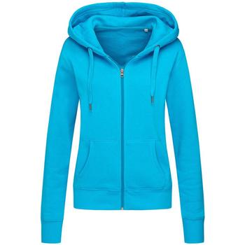 Textil Mulher Sweats Stedman  Azul Hawaii