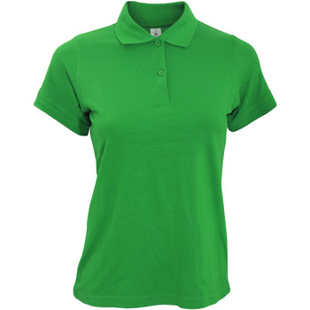 Textil Mulher Polos mangas curta B And C PW455 Kelly Green