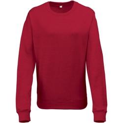 Textil Mulher Sweats Awdis JH045 Heather Vermelha