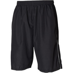 Textil Homem Shorts / Bermudas Tombo Teamsport Longline Preto/branco