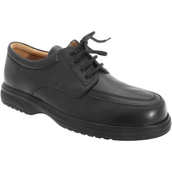 Sapatos Homem Sapatos Roamers Superlite Preto