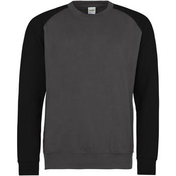 Textil Homem Sweats Awdis JH033 Carvão Vegetal/Jet Black