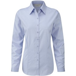Textil Mulher camisas Russell 962F Azul claro