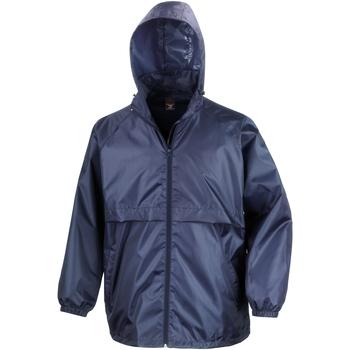 Textil Homem Corta vento Result R205X Azul-marinho
