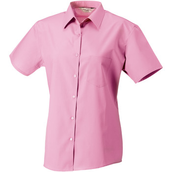 Textil Mulher camisas Russell J937F Cor-de-Rosa Brilhante