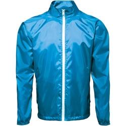 Textil Homem Corta vento 2786  Safira/ Branco