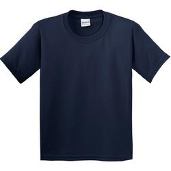 Textil Criança T-Shirt mangas curtas Gildan 5000B Marinha