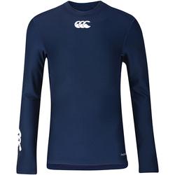 Textil Criança T-shirt mangas compridas Canterbury CN360B Marinha