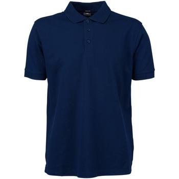 Textil Homem Polos mangas curta Tee Jays TJ1405 Azul-marinho